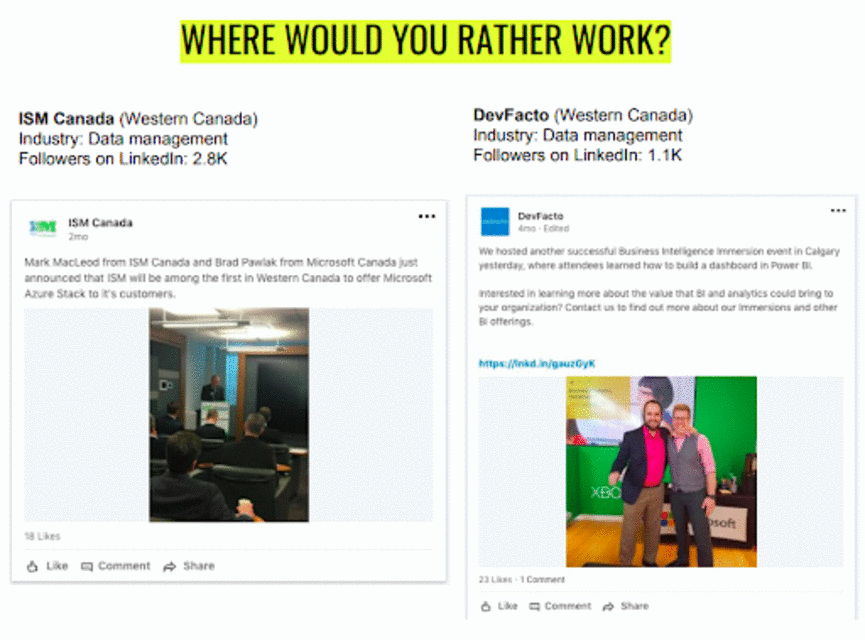 Where would you rather work