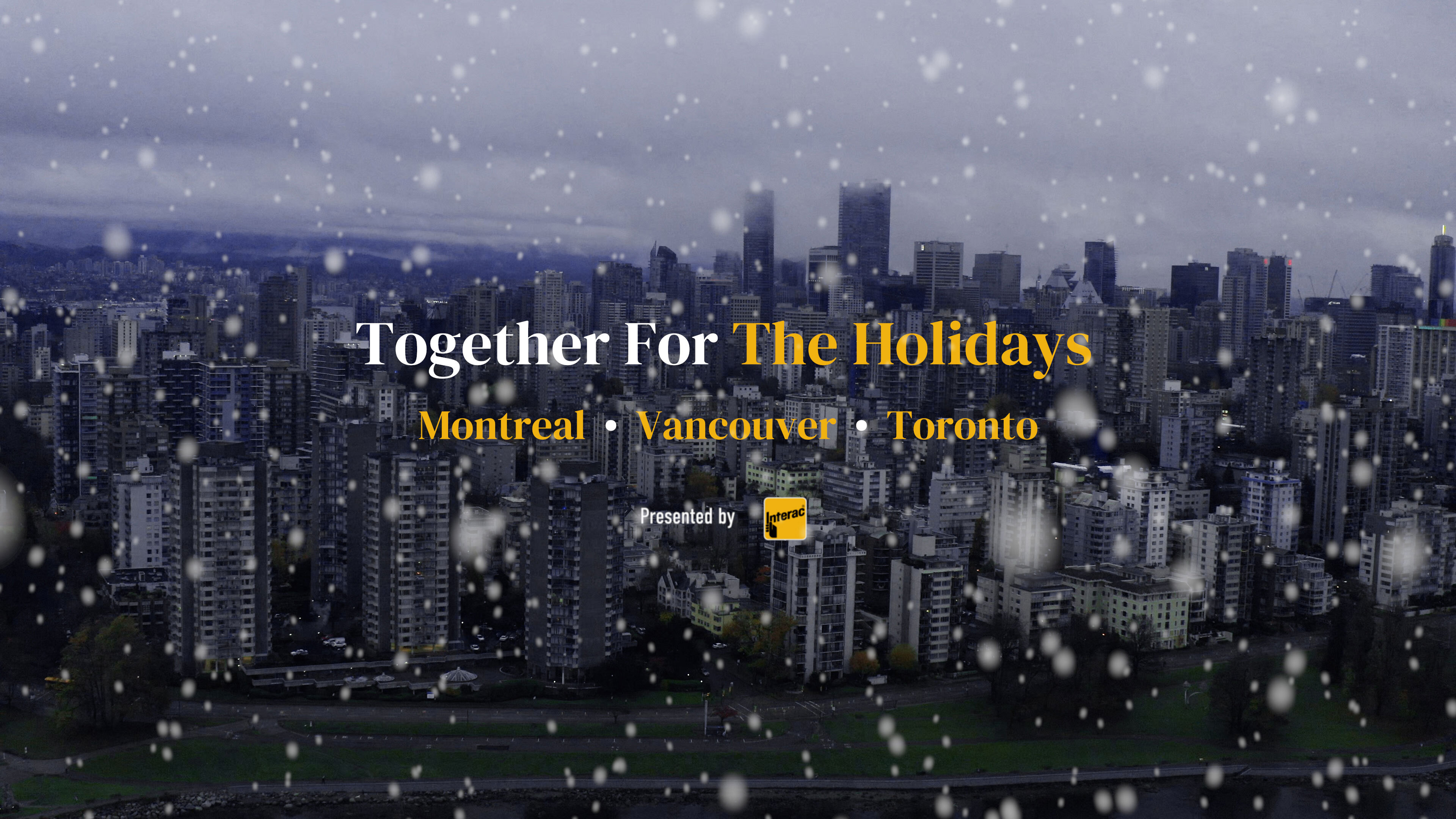 Narcity Media & Interac Partner To Encourage Shopping Local This Holiday Season With The 'Together For The Holidays' Campaign